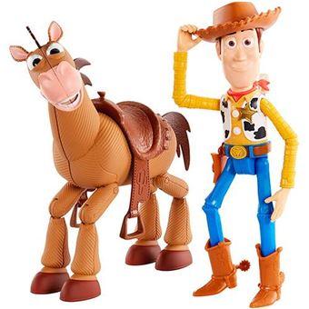 Pack de aventuras Woody y Perdigón Mattel