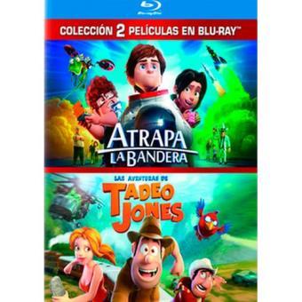 Pack Atrapa la bandera + Las aventuras de Tadeo Jones - Blu-Ray