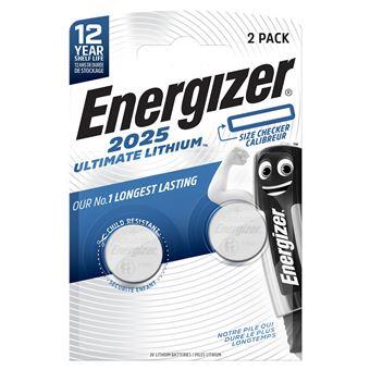 Pilas Energizer Ultimate Lithium CR2025