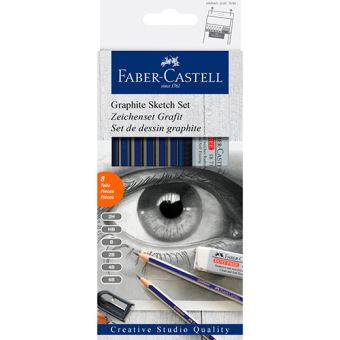 Set grafito Faber-Castell Creative Studio Quality