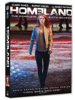 Homeland  Temporada 6 - DVD