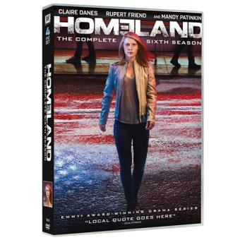 Homeland - Temporada 6 - DVD