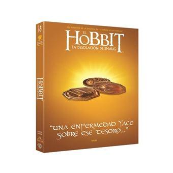El Hobbit 2: La desolación de Smaug  Ed Iconic - Blu-Ray