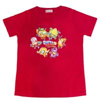 Camiseta SuperZings Rojo Talla única