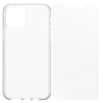 Funda Otterbox Transparente + Protector de pantalla Cristal Templado para iPhone 11 Pro