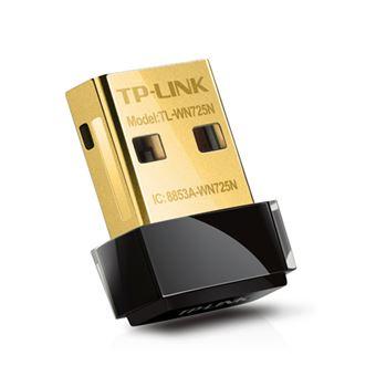 Adaptador USB Nano Inalámbrico Tp-Link TL-WN725N N150Mbps