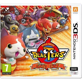 Yo-kai Watch Blasters Liga del gato Nintendo 3DS