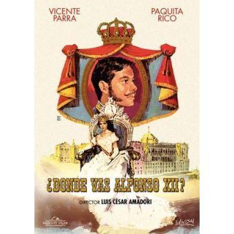 ¿Dónde vas, Alfonso XII? - DVD