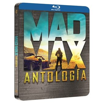 Mad Max 1-4 - Steelbook Blu-Ray