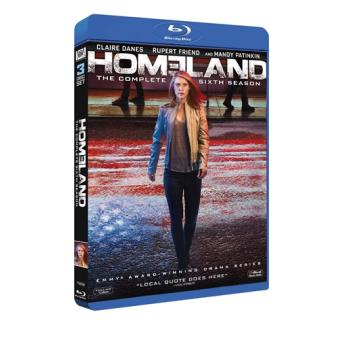 Homeland - Temporada 6 - Blu-Ray