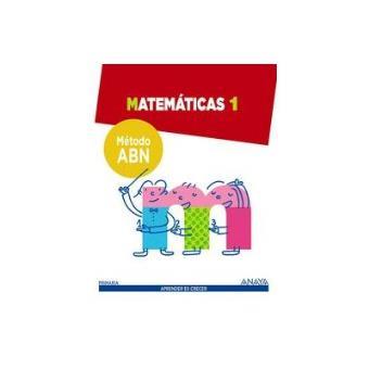 Matemáticas 1. Método ABN. - -5% en libros | FNAC