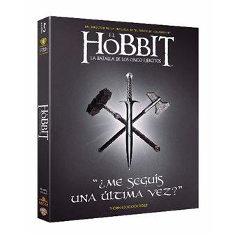 El Hobbit 3 La Batalla de los Cinco Ejércitos  Ed Iconic - Blu-Ray