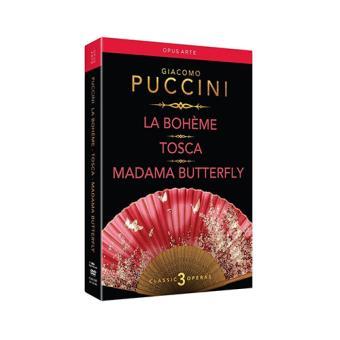 Puccini: La Bohème / Tosca / Madama Butterfly (DVD)
