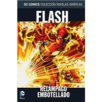 Colección Novelas Gráficas 62 - Flash - Relámpago embotellado