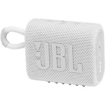Altavoz Bluetooth JBL Go 3 Blanco