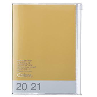 Agenda Marks 2020/21 A5 Colors amarillo
