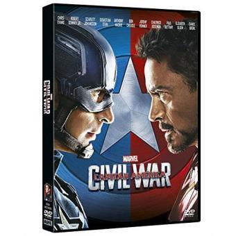 Capitán América. Civil War - DVD