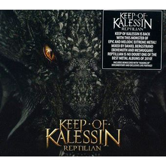Reptilian - CD + DVD