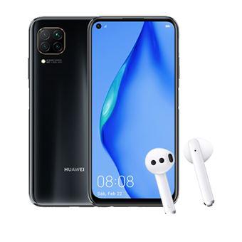 Huawei P40 Lite 6,4'' 128GB Negro + Freebuds 3 Blanco