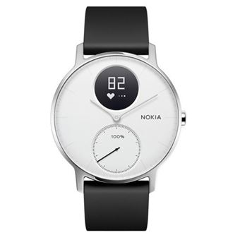 Pulsómetro Withings Steel HR 36mm Blanco