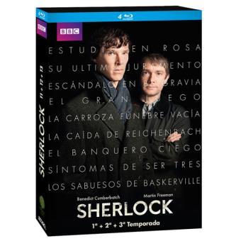Sherlock - Temporadas 1-3 - Blu-Ray
