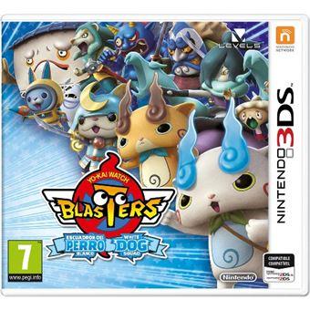Yo-kai Watch Blasters Escuadrón del perro blanco Nintendo 3DS