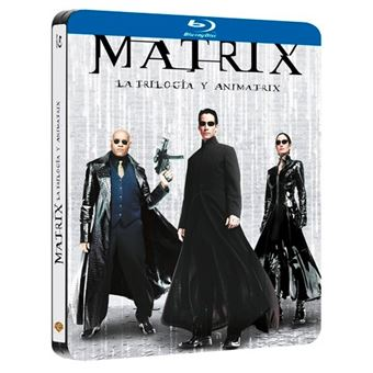Matrix 1-3 + Animatrix - Blu-Ray