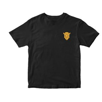 Camiseta Hamza - Logo Negro Talla M
