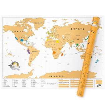 Mapa Mundo Xxl Luckies 84 X 119 Cm 5 En Libros Fnac