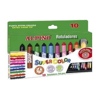 Rotuladores Alpino Supercolor Pack de 10
