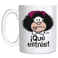 Taza Mafalda ¡Qué estrés!