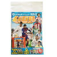 Pack Álbum + 8 sobres de cromos Panini La Liga 2020-2021