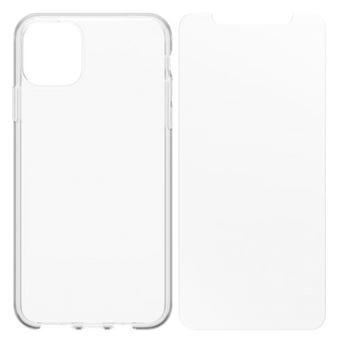 Funda Otterbox Transparente + Protector de pantalla Cristal templado para   iPhone 11 Pro Max