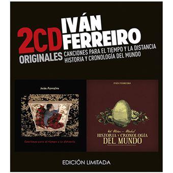 Canciones para el Tiempo y la Distancia / Historia y Cronología del Mundo - 2 CDs