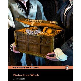 Penguin Readers 4: Detective Work Book & MP3 Pack