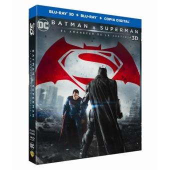 Batman v Superman: El amanecer de la justicia - Blu-Ray + 3D