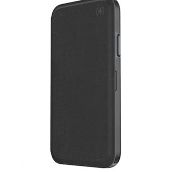 Funda Speck Presidio Folio Negro para iPhone Xs