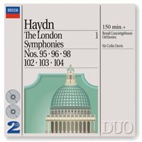 Sinfonías de Londres volumen 1
