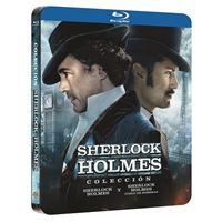 Sherlock Holmes 1-2 - Steelbook Blu-Ray