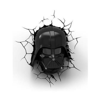 Lámpara decorativa pared 3D Star Wars Darth Vader