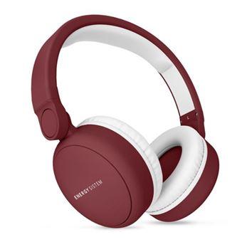Auriculares Bluetooth Energy Sistem Headphones 2 Ruby Red