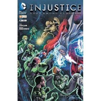 injustice: gods among us núm. 19 Grapa