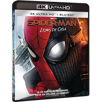 Spiderman: Lejos de casa - UHD + Blu-Ray