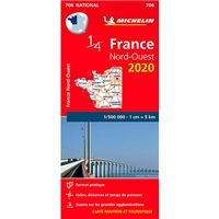 Mapa National France Nord-Ouest 2020