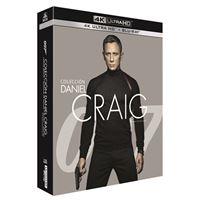 Pack 007 Daniel Craig - UHD + Blu-Ray