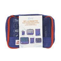 Kit 6 bolsas de viaje