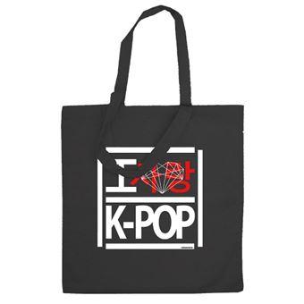 Bolsa K-POP Love Negro
