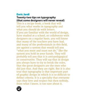 Twenty-Two Tips on Typography (That Some Designers Will Never Reveal)