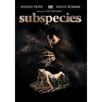 Subespecies 1 - DVD