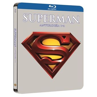 Superman I - IV - Steelbook Blu-Ray